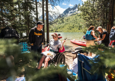 Teton Adaptive Sports Event