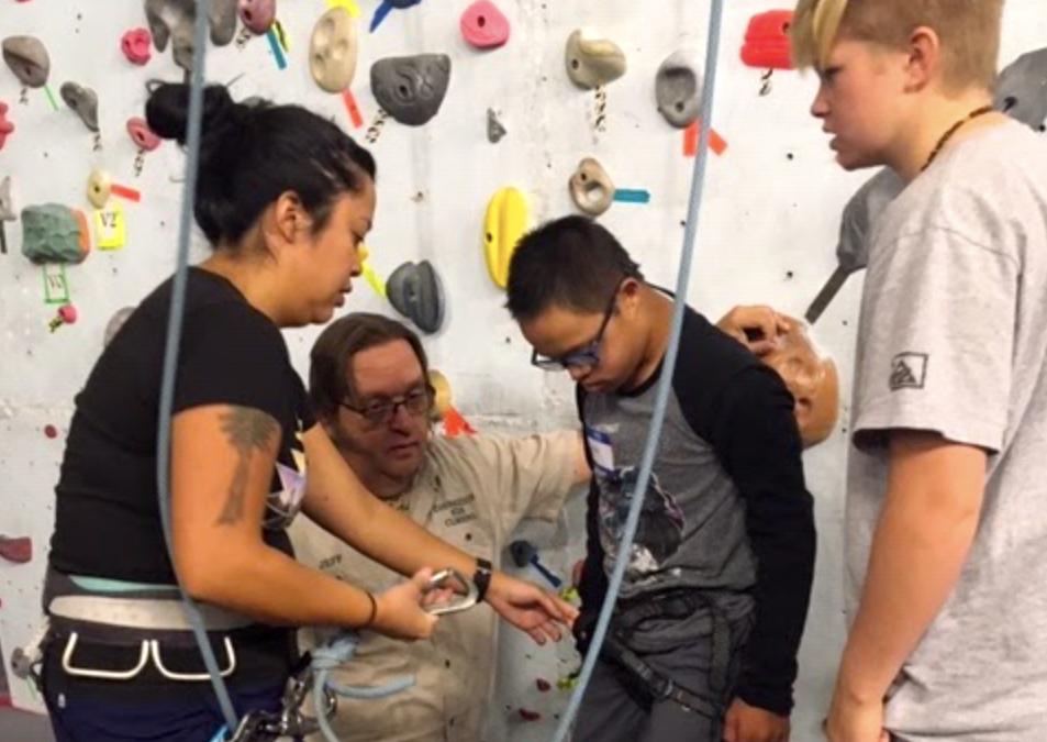Teton Kids Climbing