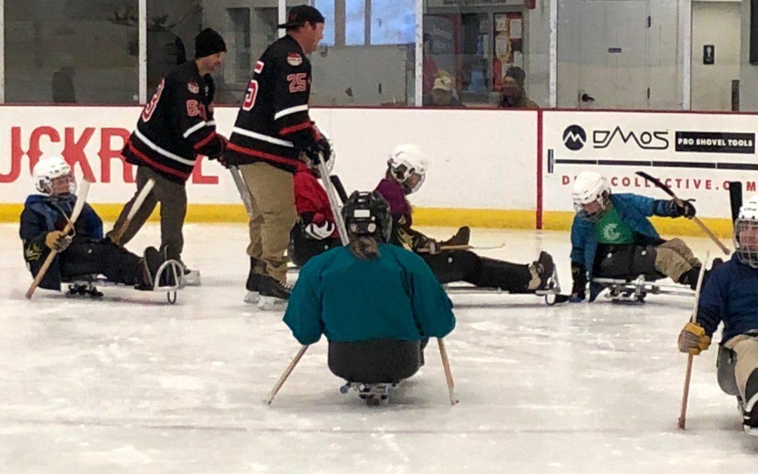 Sled Hockey Sundays