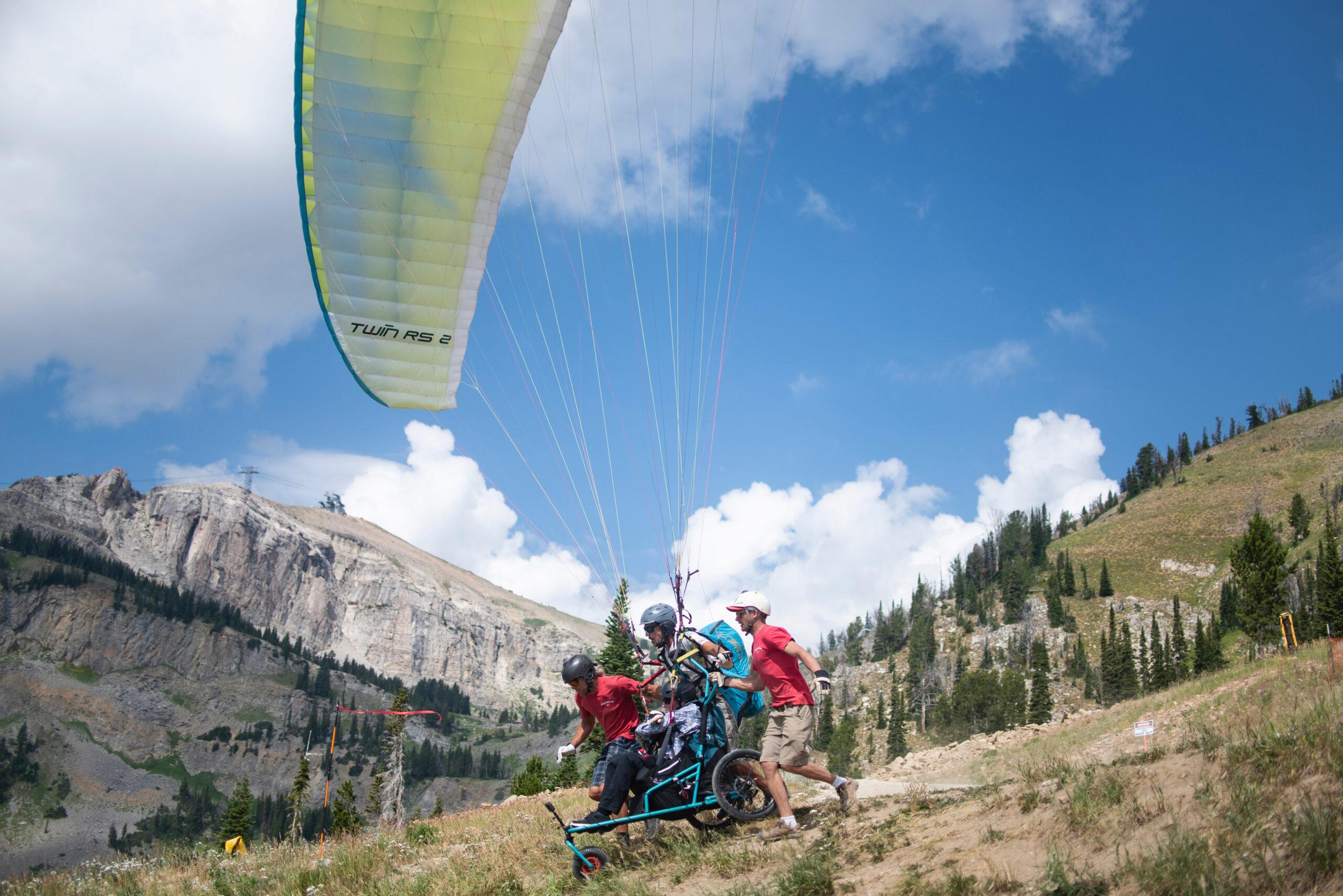 Inaugural Adaptive Paragliding Season a Soaring Success